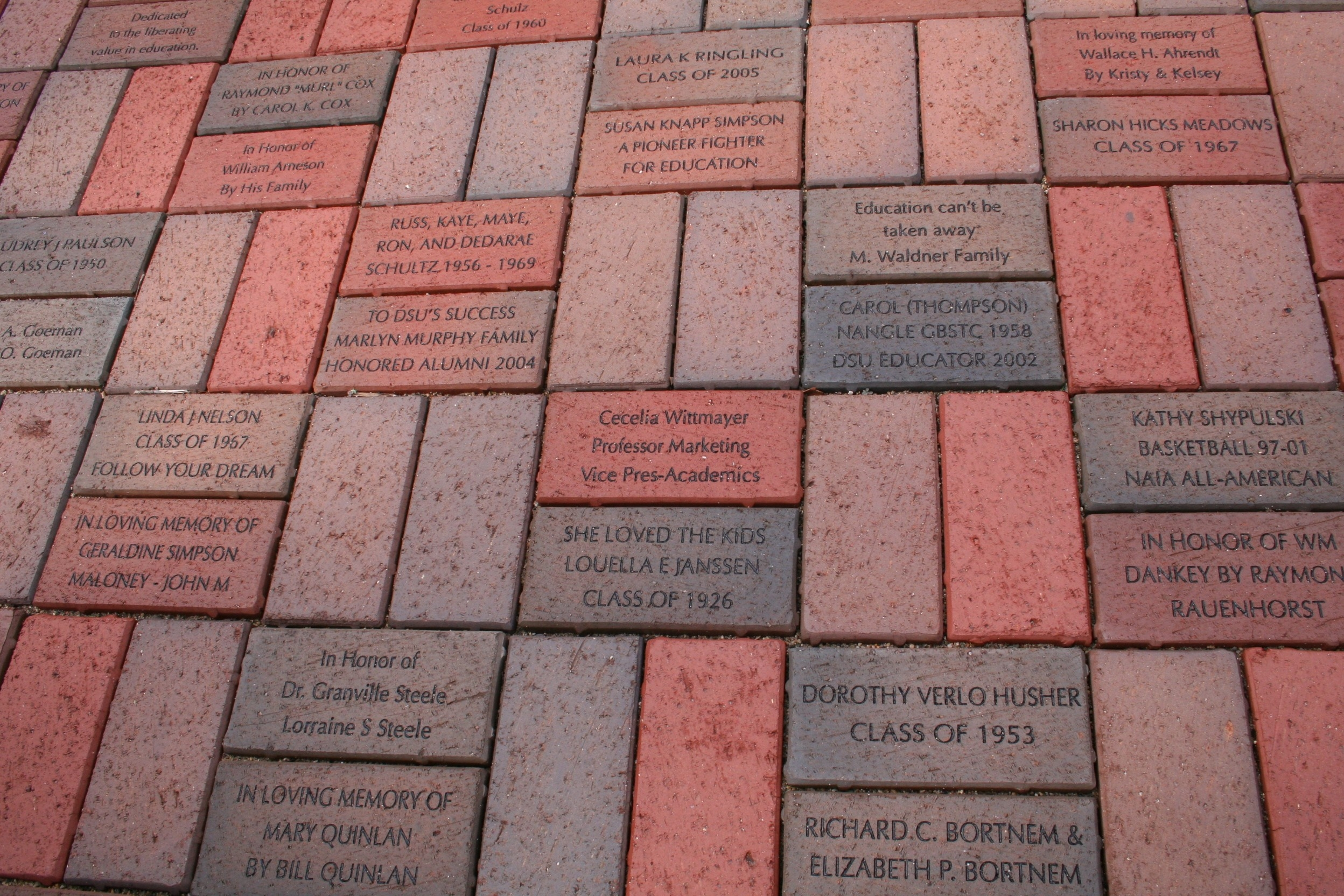 Brick Paver Installation Materials Needed To Install Engraved Brickspavers « Brick Markers